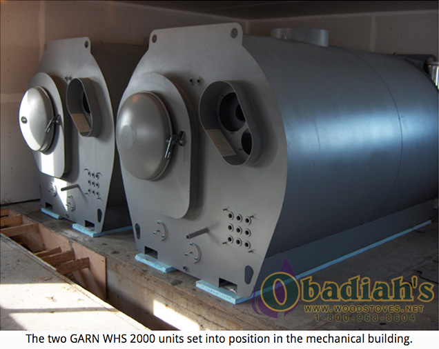 Garn WHS-2000 Residential Wood Gasification Boiler - exterior