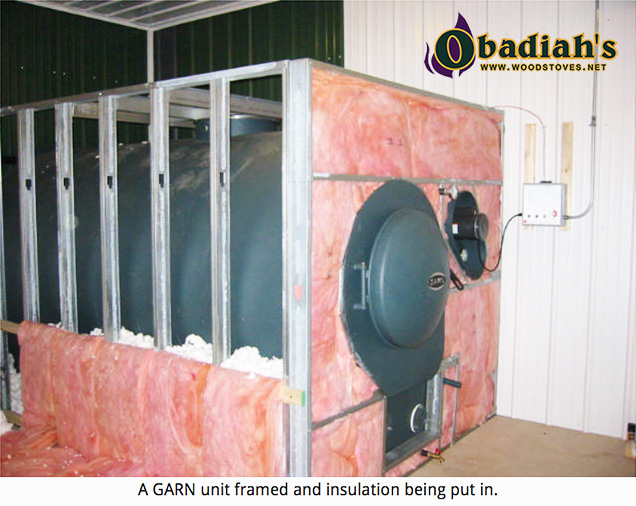 Garn WHS-2000 Residential Wood Gasification Boiler - Insulation