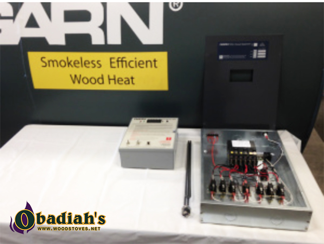 Garn 3200 Hydronic Gasification Commercial Wood Boiler