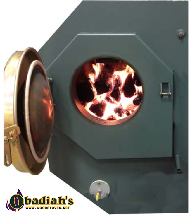Garn WHS-1000 Junior Wood Boiler - interior
