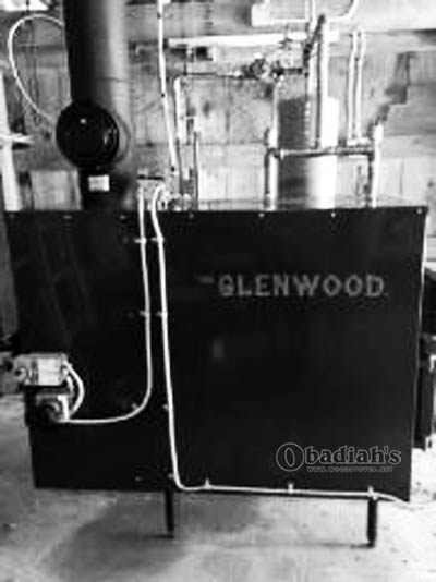 Glenwood Biomass Boiler - Side