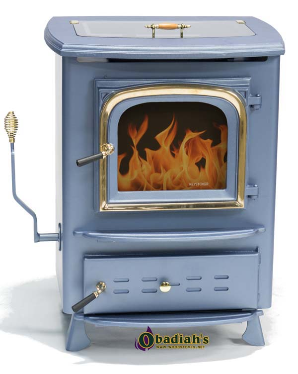 Keystoker Hand Fired Hopper Coal Stove