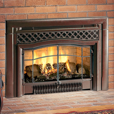 Hearthstone DVI HT 8890 Gas Insert with Cast Iron Facade