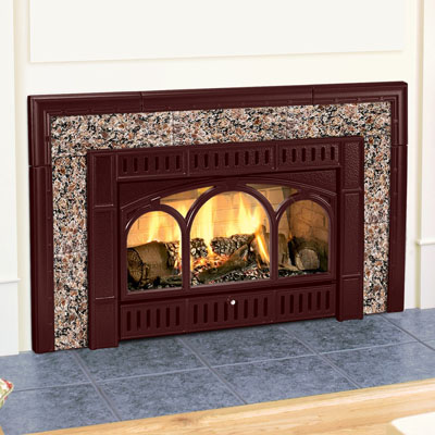 Hearthstone DVI HT 8890 Gas Insert With Willoughby Cast Iron Insert