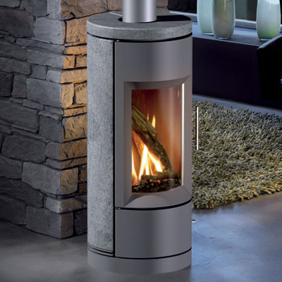 Hearthstone Bari 8180 Contemporary Soapstone Gas Stove
