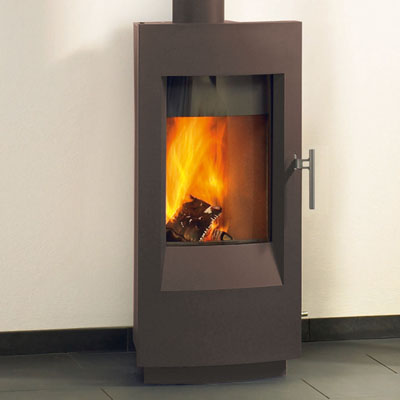 Hearthstone Tula 8190 Contemporary Wood Stove In Umbra Matte