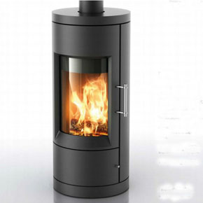 Hearthstone Bari 8170 Contemporary Wood Stove In Black