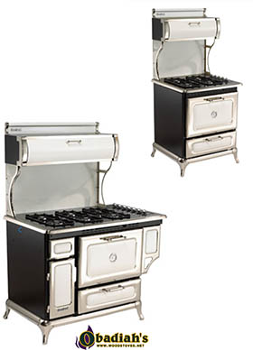 Heartland Classic Gas Range / Gas Cookstove by Obadiah's Woodstoves