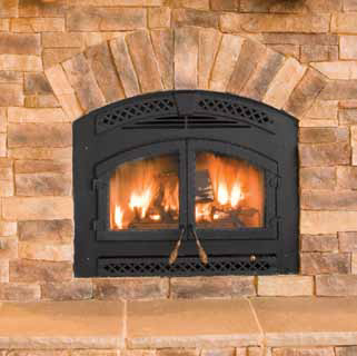 Heat & Glo Northstar / Heatilator Constitution EPA Zero Clearance Wood Fireplace