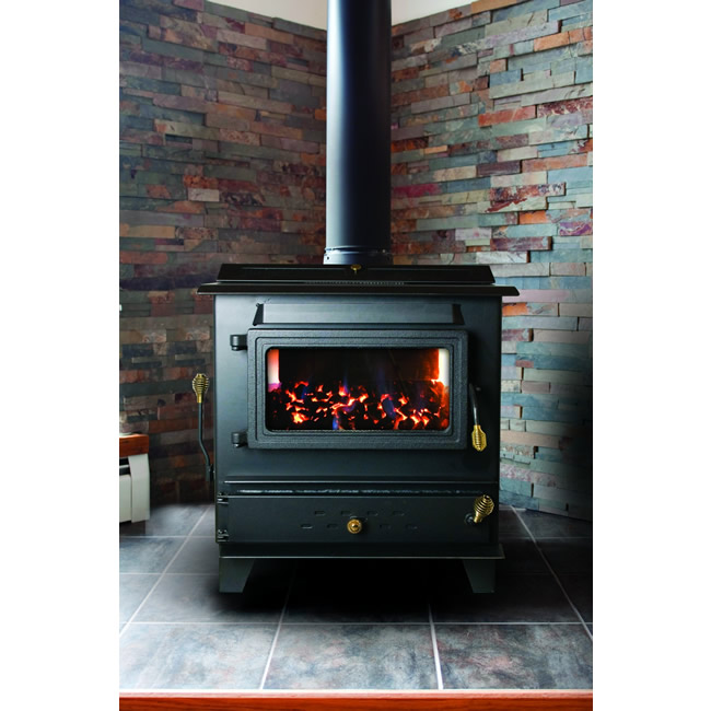 Hitzer Model 50-93 Gravity Fed Hopper Coal Stove