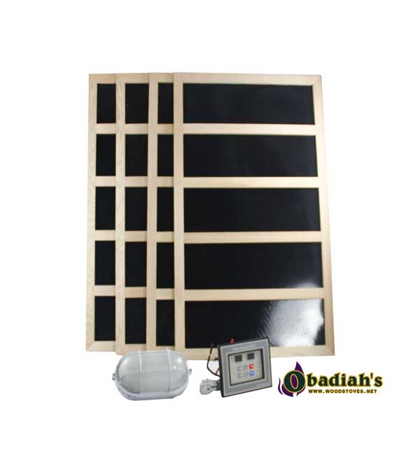 Infrared Digital Sauna Heater Packages By Obadiah 39 S Woodstoves