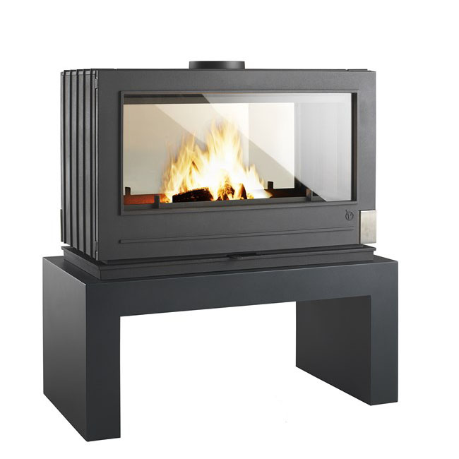 Invicta Aaron See-Thru Woodstove