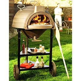 Invicta Lo Goustaou Multi-Function Wood/Bread Oven with Trolley