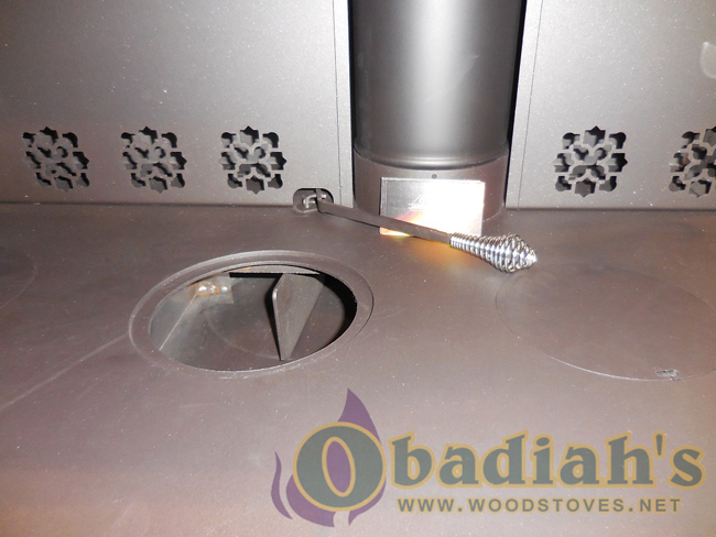J.A. Roby Cuisiniere Woodburning Cookstove