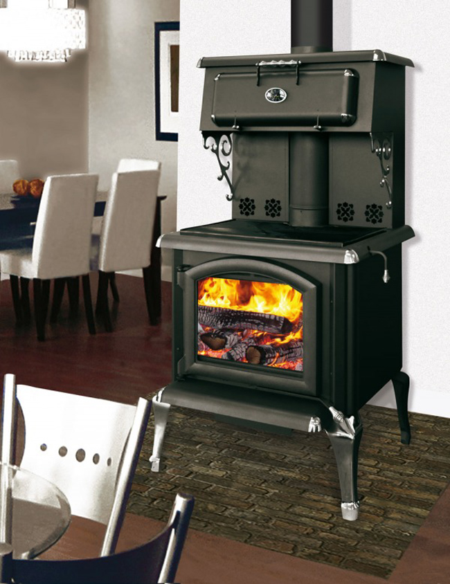 J.A. Roby Forgeron Cuisiniere Wood Cookstove - J.A. Roby Forgeron Cuisiniere Wood Cookstove - Discontinued By