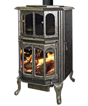 J.A. Roby Mystere Classic Wood Cookstove