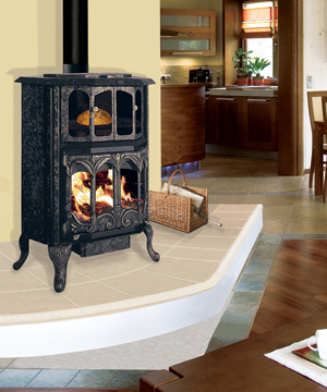 J.A. Roby Mystere Wood Cookstove
