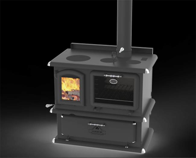 J.A. Roby Elda Wood Cook Stove