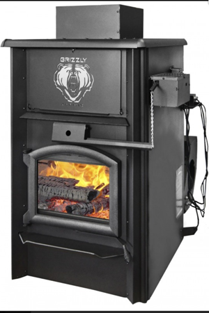 j a roby grizzly wood furnace by obadiah 39 s woodstoves. Black Bedroom Furniture Sets. Home Design Ideas