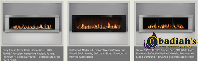 LHD62 Napoleon Direct Vent Linear Contemporary Gas Fireplace