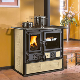La Nordica Rosa Liberty Wood Cookstove