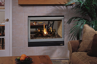 EDVST Astria See-Through Gas Fireplace