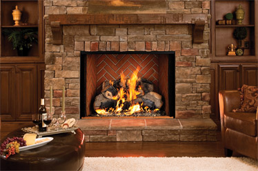 Estate™ Series Lennox Wood Burning Fireplace