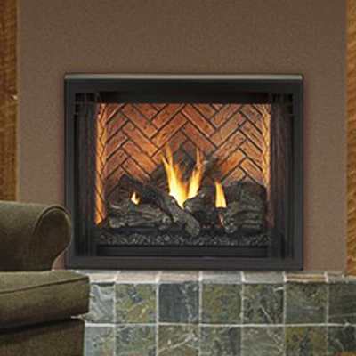 Merit Louverless Astria Gas Fireplace