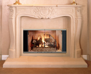 "BC/BR 36"" Lennox Fireplace - Discontinued*"