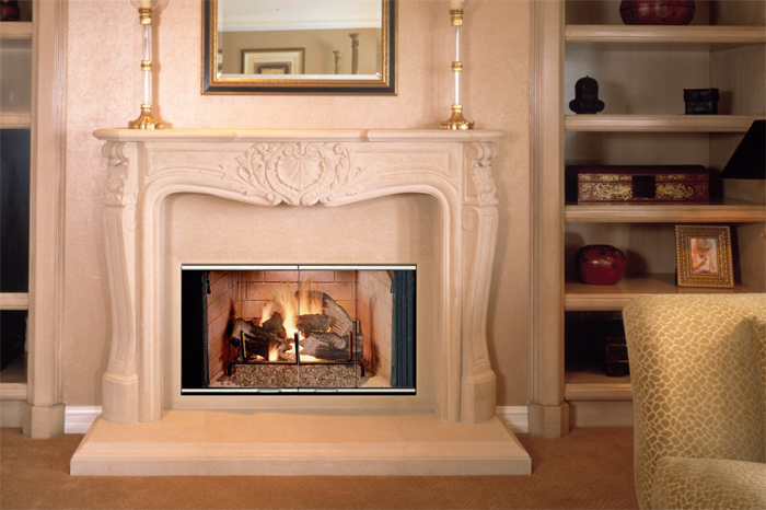 "BC/BR 42"" Lennox Wood Burning Fireplace"