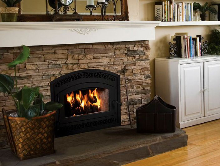 BIS Tradition™ CE Lennox Wood Burning Fireplace