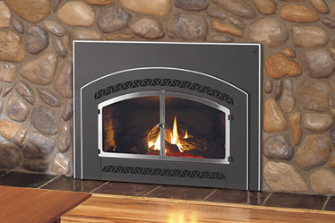 Designer Lennox Gas Fireplace Insert - Discontinued