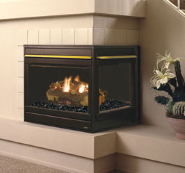Astria Corner Fireplace - Discontinued*