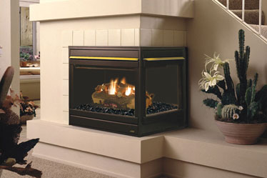 Elite Corner Astria Gas Fireplace