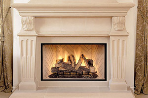 LBR Lennox Wood Burning Fireplace