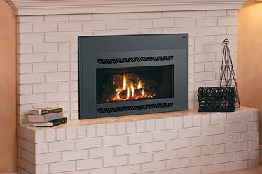 Medina Lennox Gas Fireplace Insert Discontinued by Obadiahs