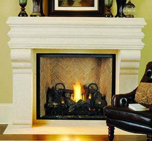 Astria montebello dlx superior drt6300 direct vent gas for Montebello fireplace
