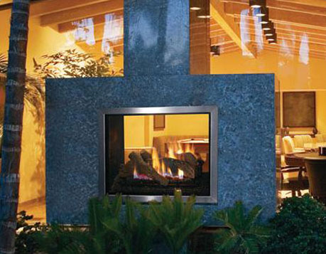 Montebello See-Through Astria Gas Fireplace