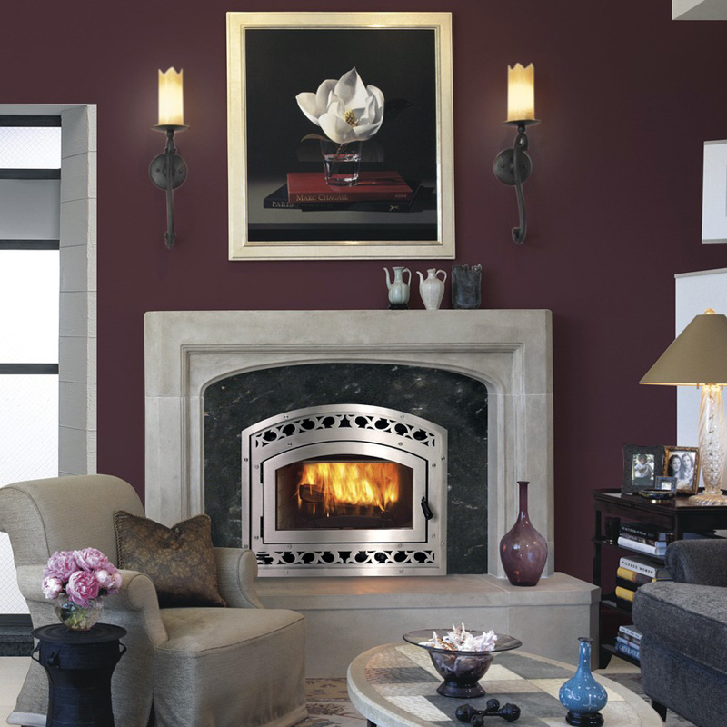 Montecito astria wood burning fireplace by obadiah 39 s for Astria fireplace