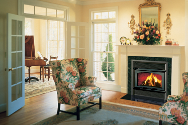 Secure HE43-2™ Lennox Wood Burning Fireplace
