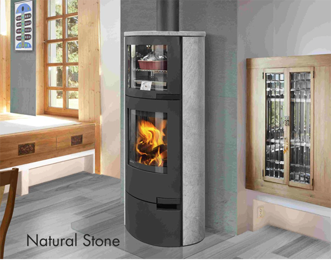 Lugo Contemporary Wood Cook Stove