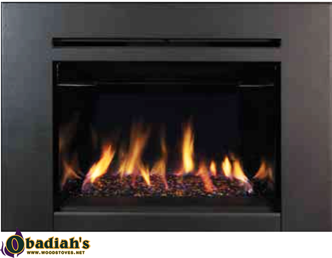 IronStrike Madison Park CD Contemporary Direct Vent Gas Fireplace Insert