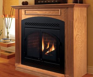 Majestic DVB Direct Vent Fireplace System 42