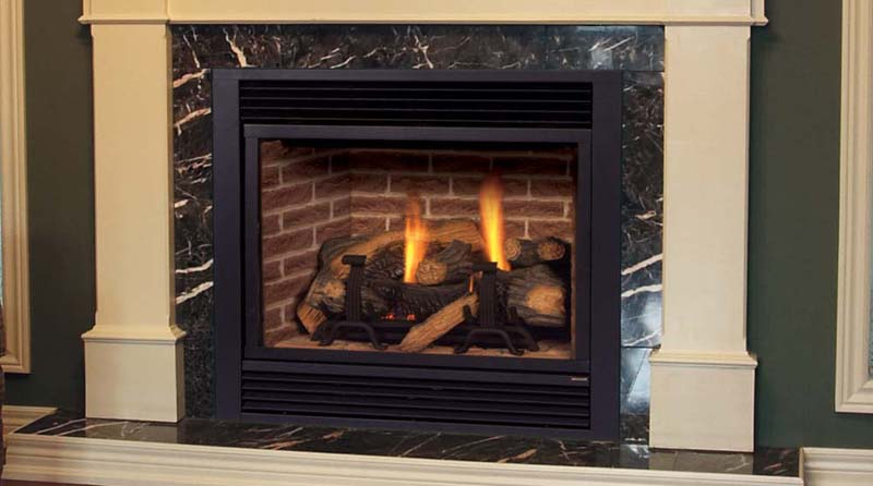 Majestic DVBH Direct Vent Fireplace System 36
