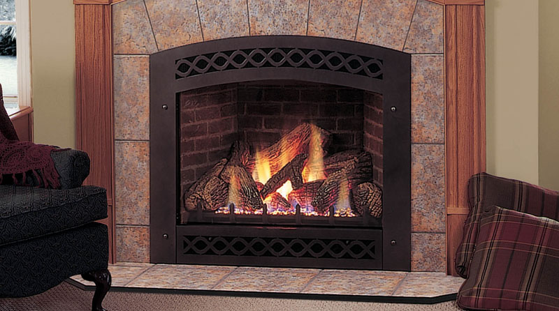 Majestic Lexington Direct Vent Gas Fireplace 36