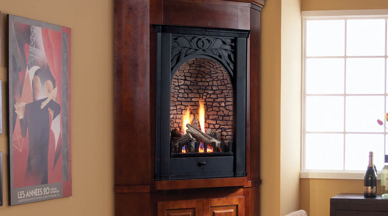 Majestic Parlor Vent Free Gas Fireplace