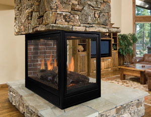 Majestic Pearl Direct Vent Gas Fireplace