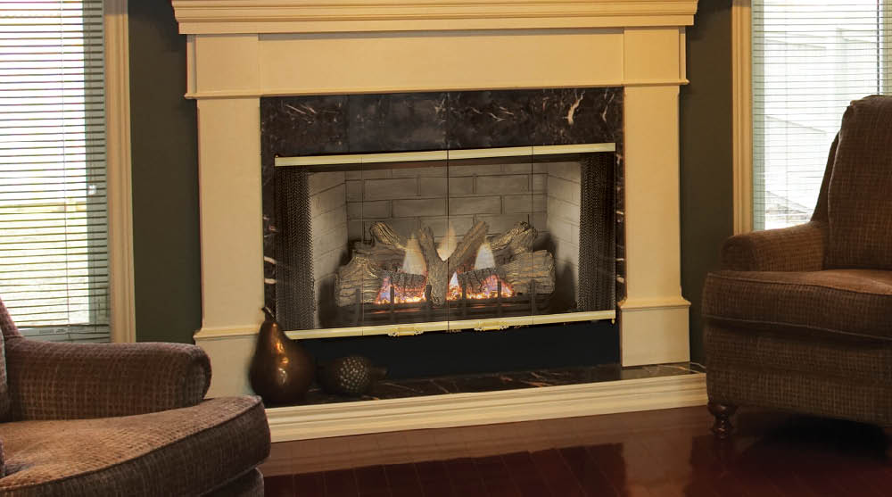 "Majestic SBV Series 42"" B Vent Gas Fireplace"