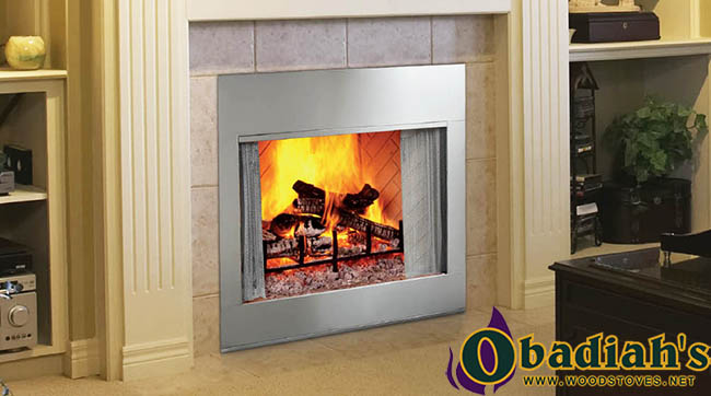 Majestic SB44SS Indoor/Outdoor Wood Fireplace