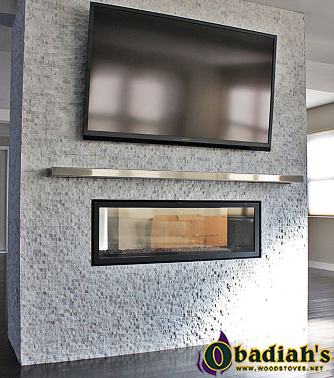 Napoleon LV50 Vector See-Thru Direct Vent Gas Fireplace